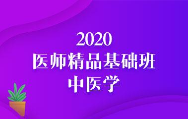 2020中医(助理)医师