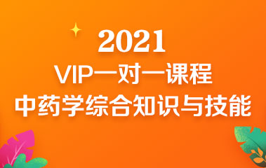 中药学综合知识与技能VIP一对一班
